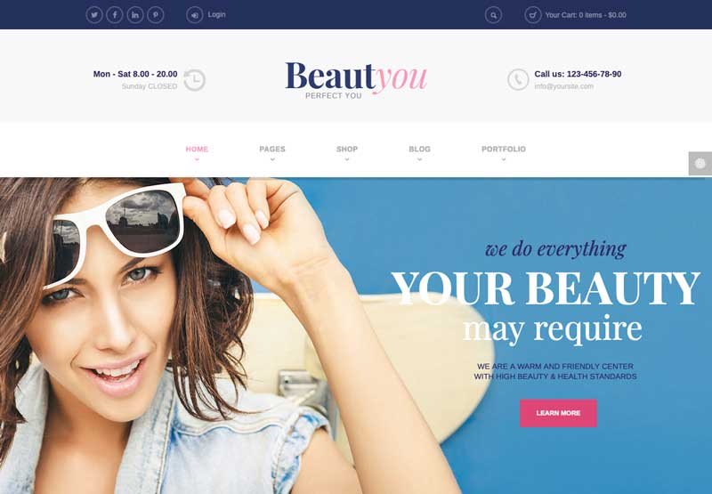 diseño web para esteticas
